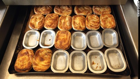 The pies are hearty nostalgic food reminiscent of a bygone era and each mouthful is as quintessentially London as red Routemaster buses, black cabs, pearly kings and Beefeaters.