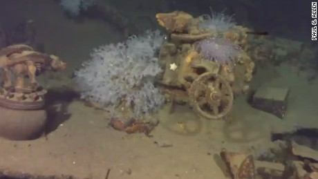 Long lost Japanese WWII battleship wreck discovered