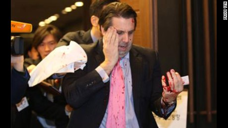 U.S. ambassador to South Korea Mark Lippert was attacked, possibly by more than one person, according U.S. government sources in the U.S. and South Korea.There are indications the attackers were armed.