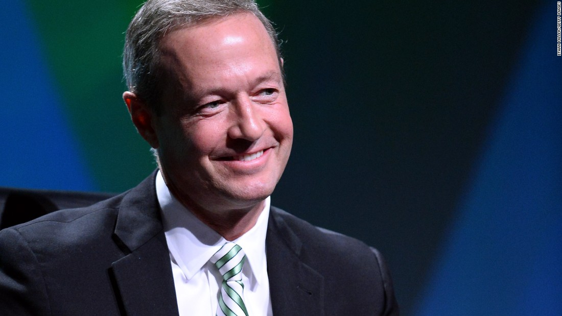 "Martin O'Malley: ""I've been very encouraged as I travel around the country by a number of people who repeat again and again and again their desire for getting things done again as a country and also for new leadership to get those things done."""