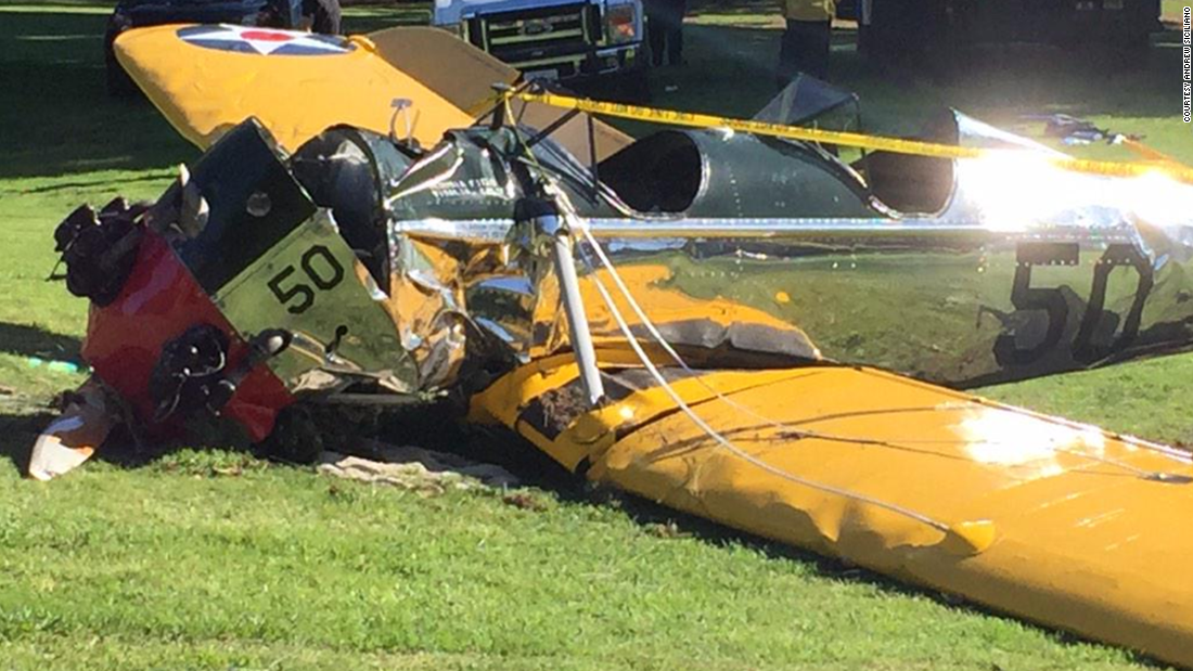 Harrison Ford S Airplanes : Harrison ford ok after small plane crash cnn