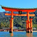 beautiful japan Miyajima in Hiroshima