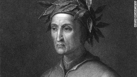 "The Italian poet Dante Alighieri (1265-1321) is best known for his epic poem, the ""Divine Comedy."""