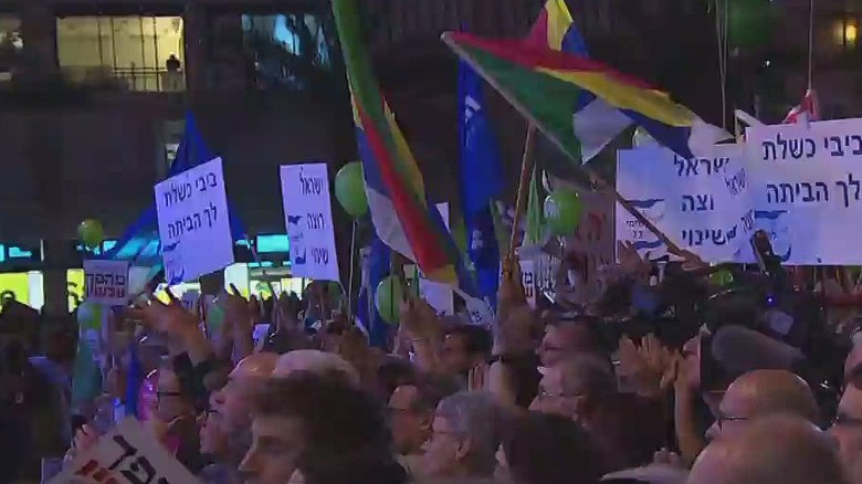 Thousands of Israelis rally for change in government