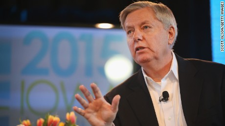 Senator Lindsey Graham says he's never sent an email.