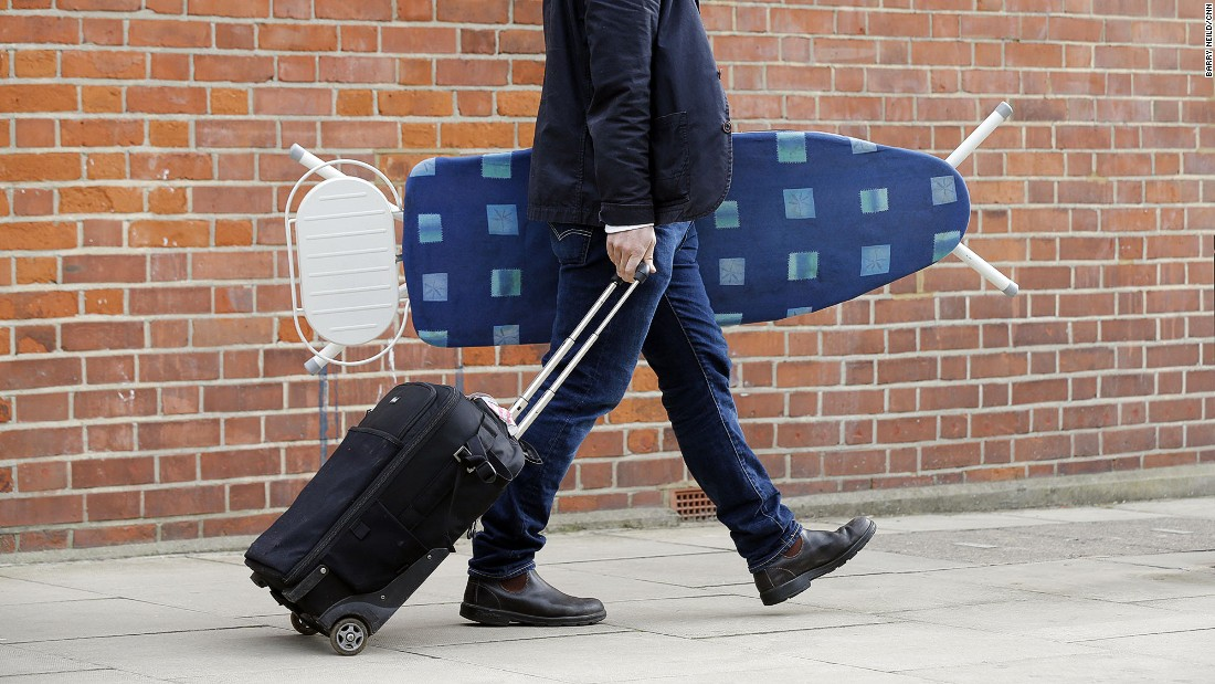 Ironing at home is already a chore, so why take it on your travels? Reduce the need by slipping clothing into plastic dry cleaning bags to keep it crumple free. Or just work the slept-in-a-hedgerow look.