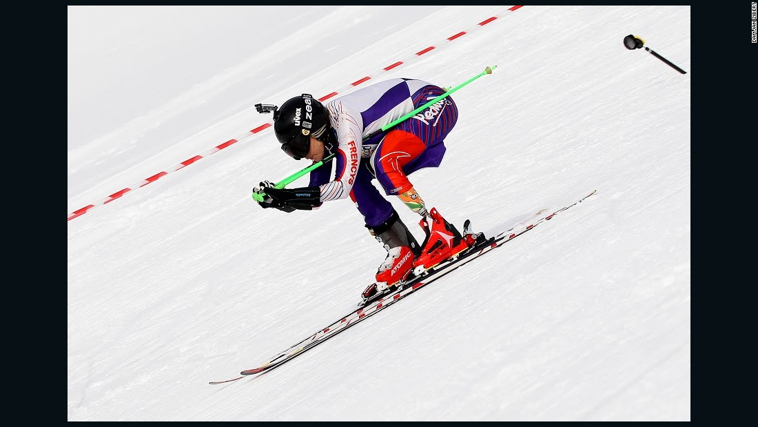 """Having tackled ski jumping for a British television series, she now has speed in her sights. Asked why, she says, """"Why not?"""""""