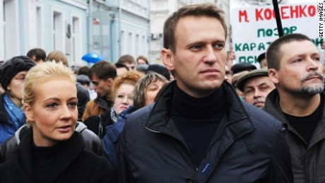Russian opposition leader jailed