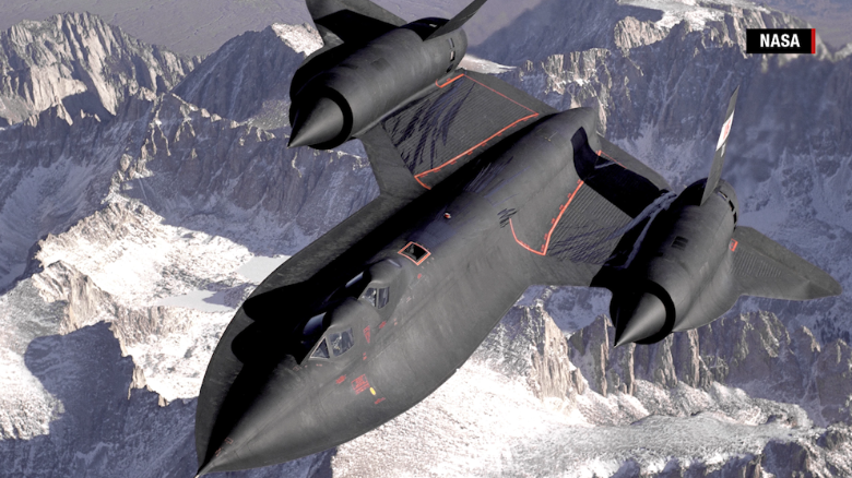 The world's fastest plane