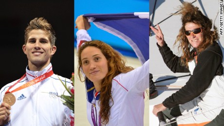 French athletes Alex Vastine, Camille Muffat and Florence Arthaud were confirmed killed in a helicopter crash in Argentina.