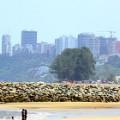 Maputo skyline
