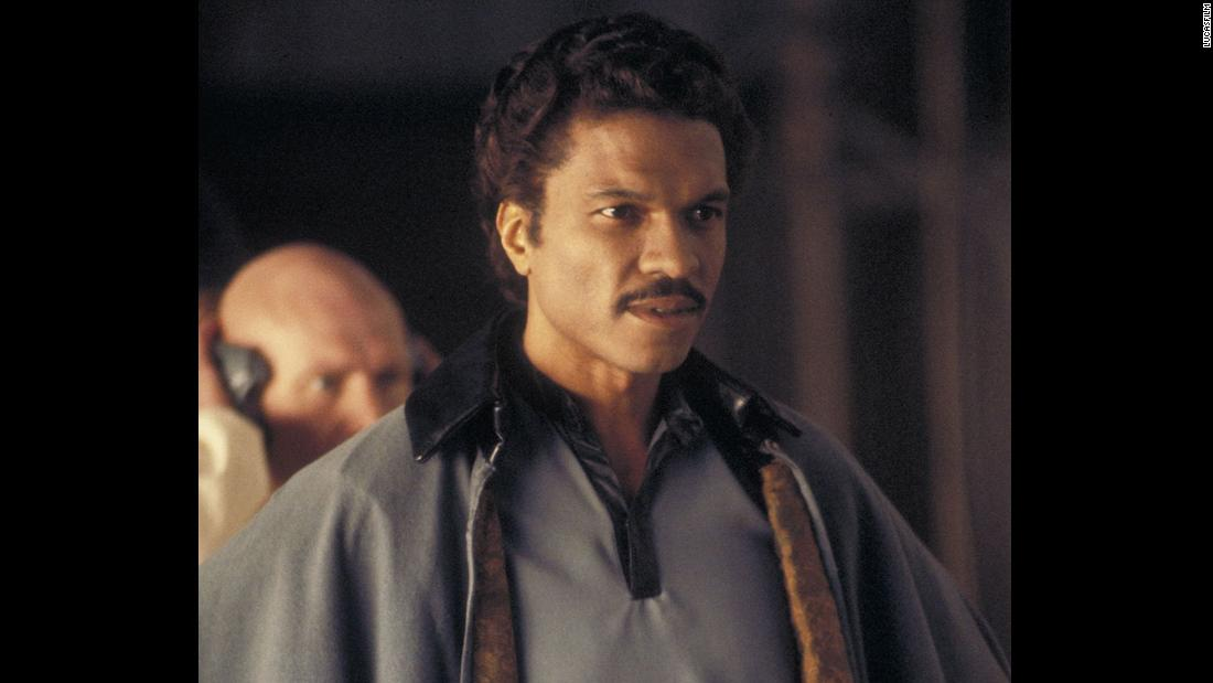 "Billy Dee Williams was the first -- and for a while, the only -- African-American actor to hold a prominent role in the series, appearing in ""The Empire Strikes Back"" and then ""Return of the Jedi."""