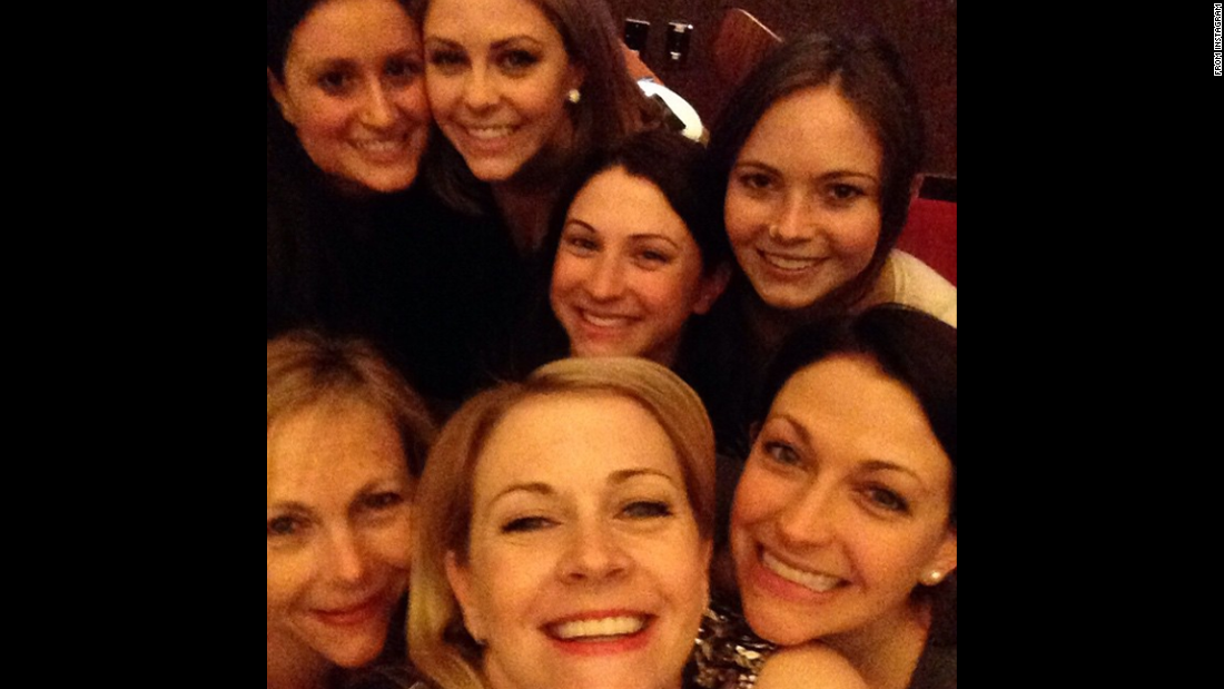"""Happy International Women's Day,"" <a href=""https://instagram.com/p/z945ELFHvn/?modal=true"" target=""_blank"">said actress Melissa Joan Hart,</a> bottom center, on Sunday, March 8. ""Here are some of my favorite women all together my mom and many sisters."" <a href=""http://www.cnn.com/2015/03/04/living/gallery/look-at-me-selfies-0304/index.html"" target=""_blank"">See 33 selfies from last week</a>"