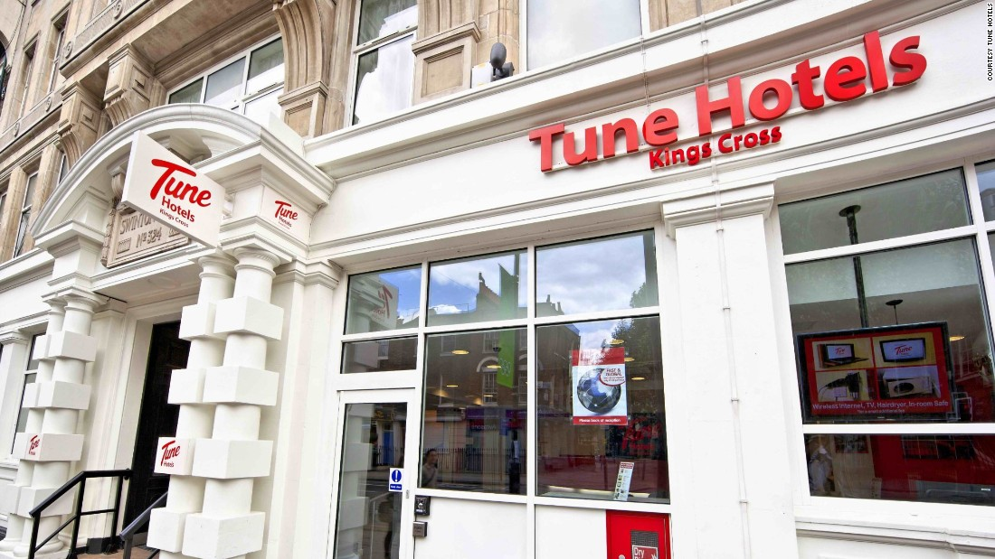 Malaysia's Tune Hotels brand has more than 40 properties worldwide, including five in London. Some of the brand's execs, including the CEO, have backgrounds in the entertainment industry.