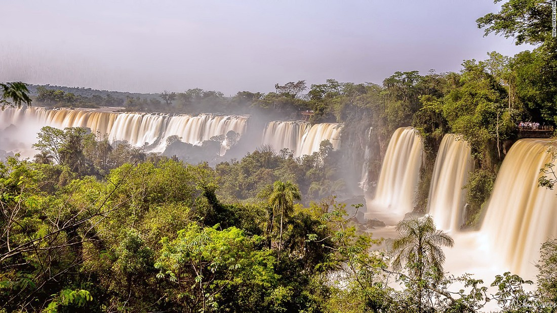 "Nothing can prepare you for the first encounter with the Iguazu Falls says Martin Ruffo of Intrepid Travel. ""As a tour leader I used to joke that the only word travelers could muster for the first couple of minutes at the falls was: Wow!"""