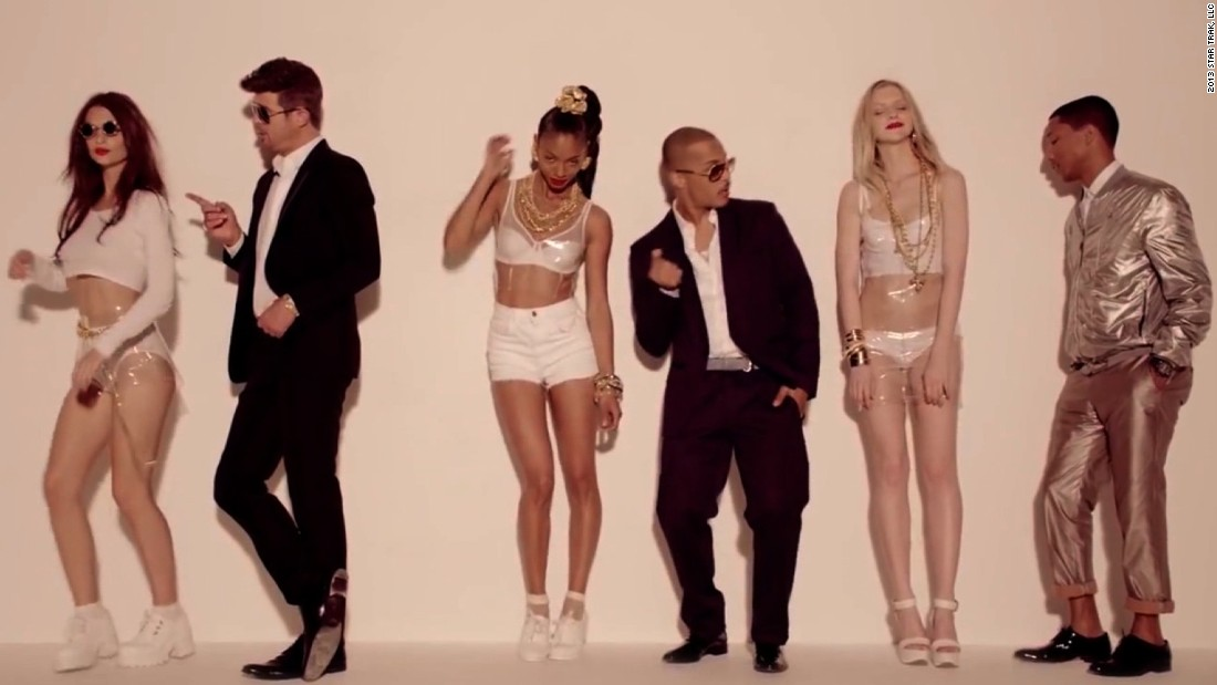 'Blurred Lines' decision will hurt music industry - CNN Video