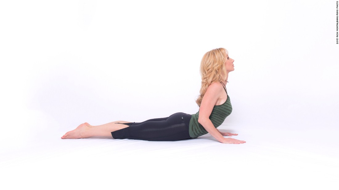 "March to September is traditionally considered ""triathlon season."" Here are four poses that will help you prepare.<br /><strong><br />Cobra pose: </strong>This strengthens the back, enhances shoulder and mid-back mobility, opens the chest and lengthens the core."