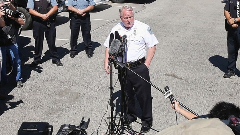 Ferguson police chief resigns