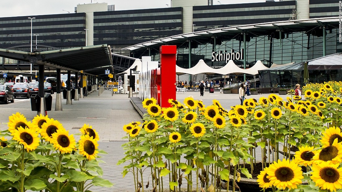 Schiphol Airport, near Amsterdam, dropped four spots to ninth place, despite 55 million passengers traveling through the airport last year.