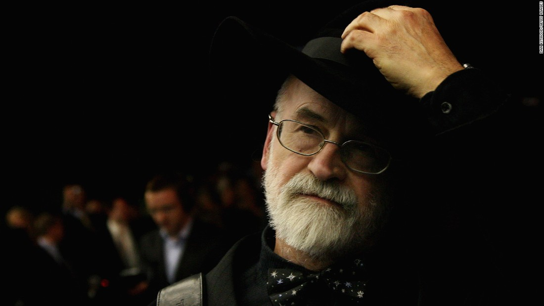 "Best-selling British fantasy author <a href=""http://www.cnn.com/2015/03/12/world/author-terry-pratchett-dies/index.html"" target=""_blank"">Terry Pratchett</a> died at the age of 66, his website said March 12. Pratchett wrote more than 70 books, including those in his ""Discworld"" series. He had been diagnosed with a rare form of Alzheimer's disease in 2007."