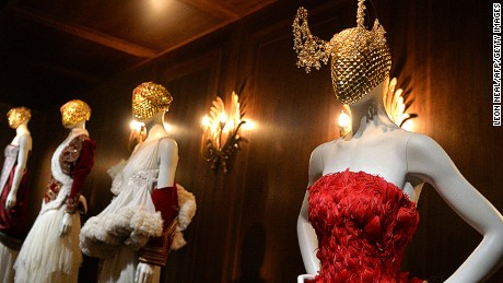 Savage Beauty: The strange and stunning fashions of Alexander McQueen
