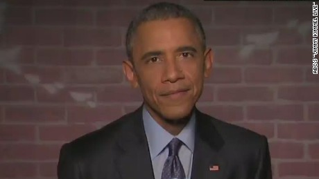 newday sot obama reads mean tweets on jimmy kimmel live_00002524