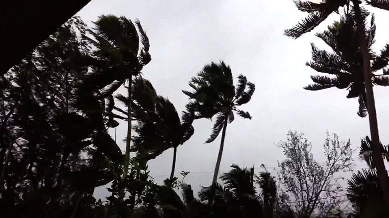 Tropical Cyclone Pam slams Vanuatu