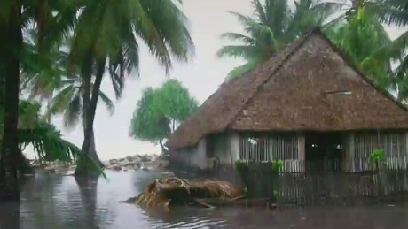 Cyclone Pam tore her house apart with her inside