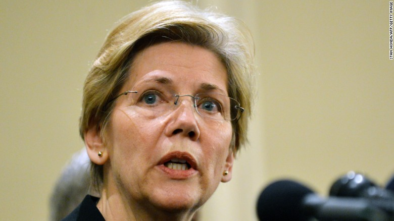 Clinton's trade position doesn't satisfy Warren