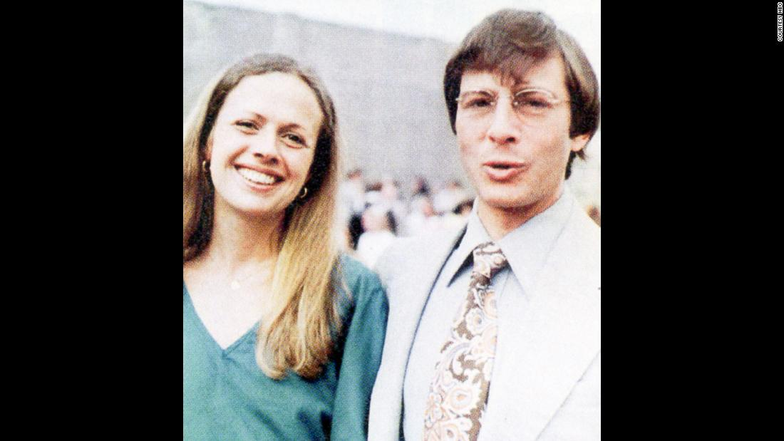 "An undated photo of Kathie and Robert Durst. Her family has said Robert Durst is to blame for her disappearance and hailed his arrest as a sign they could be close to getting answers. ""The dominoes of justice are now starting to fall,"" Jim McCormack, her brother, said. ""Through our faith, hope and prayers the last domino will bring closure and justice for Kathie."""