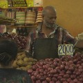 Mauritius veg seller market