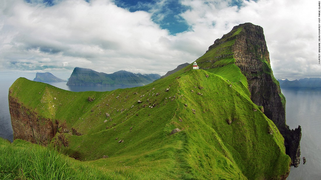 "The Faroe Islands lie almost halfway between Scotland and Iceland. <a href=""http://www.vit.fo/home_uk/outer-islands/kalsoy/"" target=""_blank"">Long and narrow Kalsoy </a>stretches north-south with varying landscapes, from steep and jagged to flat and green. The northern tip of the island will be one of the prime spots to watch the solar eclipse on March 20."