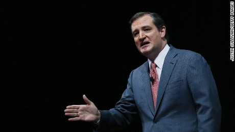U.S. Sen. Ted Cruz (R-TX) speaks during the 2013 NRA Annual Meeting and Exhibits at the George R. Brown Convention Center on May 3, 2013 in Houston, Texas.