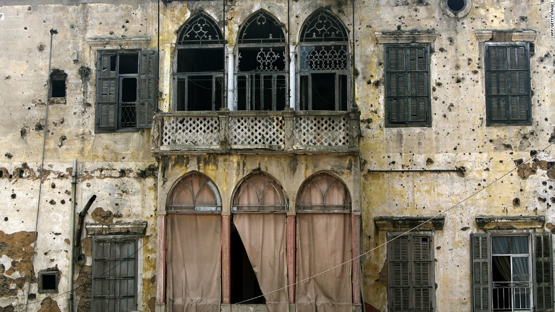 As if decades of civil war and bombardments weren't enough, the remaining old buildings of Beirut are now under threat by property developers who are looking to create new luxury blocks on real estate currently occupied by traditional structures. Many have been hastily deemed unfit for living, pushing residents away: less than 350 heritage buildings now remain.