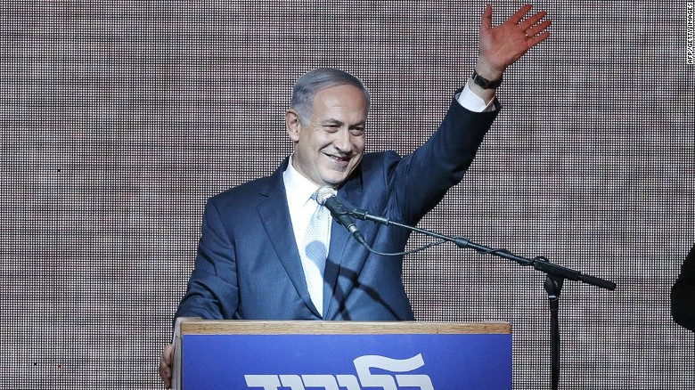 Netanyahu claims victory in Israeli elections