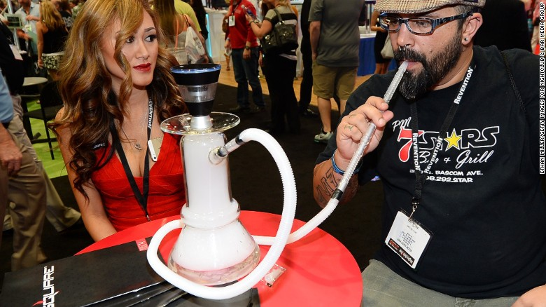 """""""Electronic nicotine delivery systems"""" now take a variety of forms. E-hookahs have also been developed and have a strong cross-cultural market potential."""
