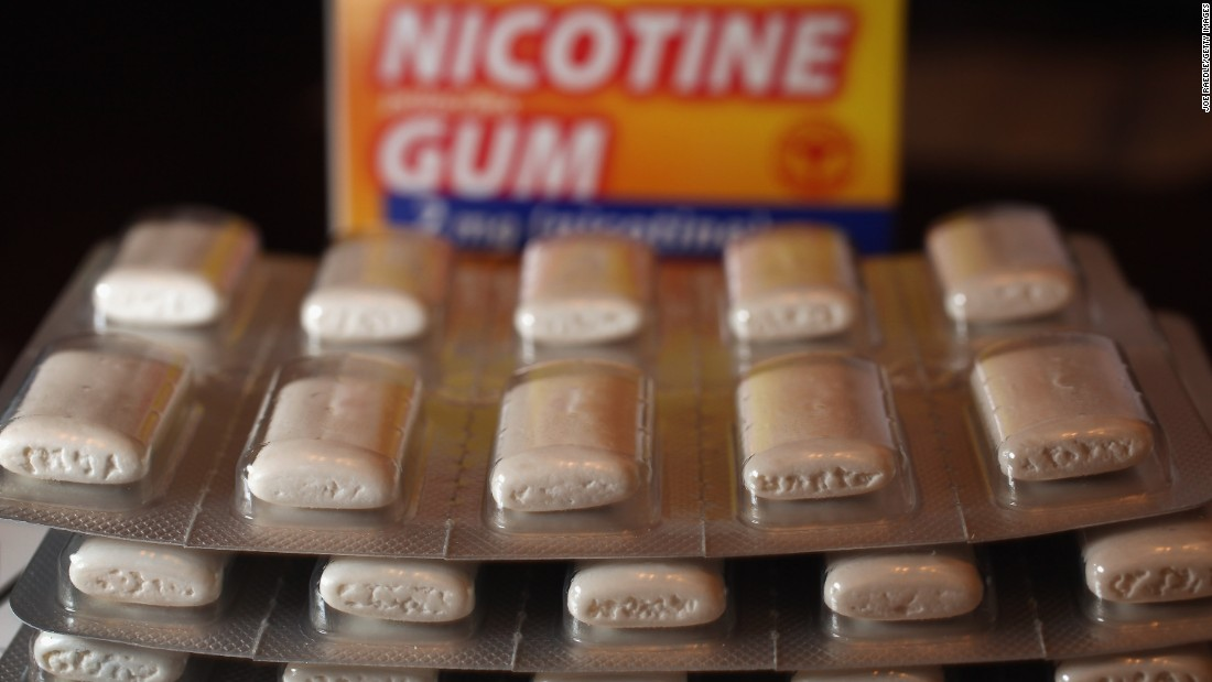 Nicotine gum and patches predate ENDS as a way for people to attempt to give up cigarettes.