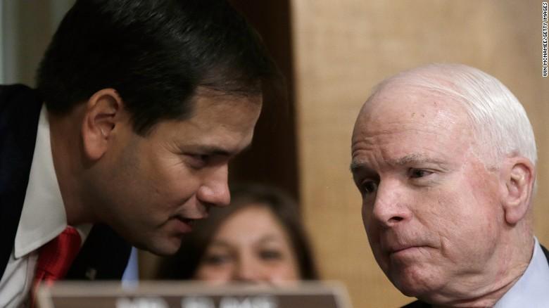 Rubio, McCain test Trump's down ballot impact