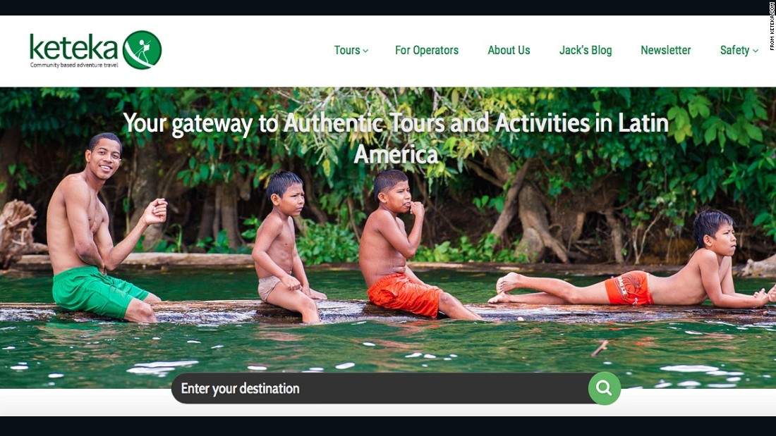 Keteka is connected to a global network of local experts to give travelers authentic local experiences. Primarily focused on Latin America, the website plans to support sustainable tourism in developing communities around the world.