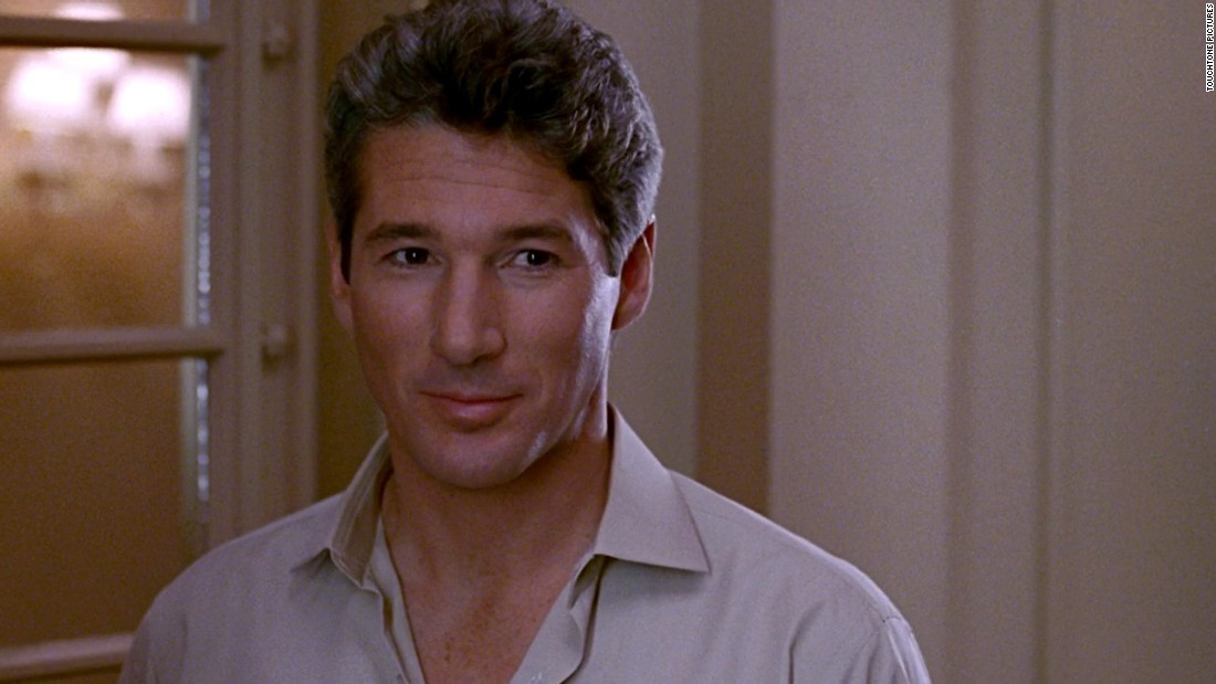 "Before ""Pretty Woman,"" Gere's career was struggling after such flops as 1985's ""King David"" and 1988's ""Power."" In ""Woman,"" he plays Edward Lewis, a corporate raider -- but one who sees the error of his greed."