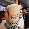 Shanghai street food pearl milk tea