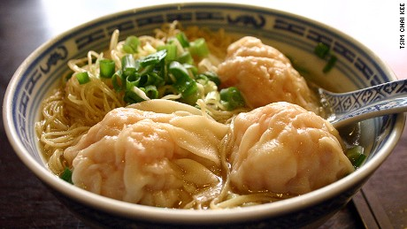 Most-wanted wontons.