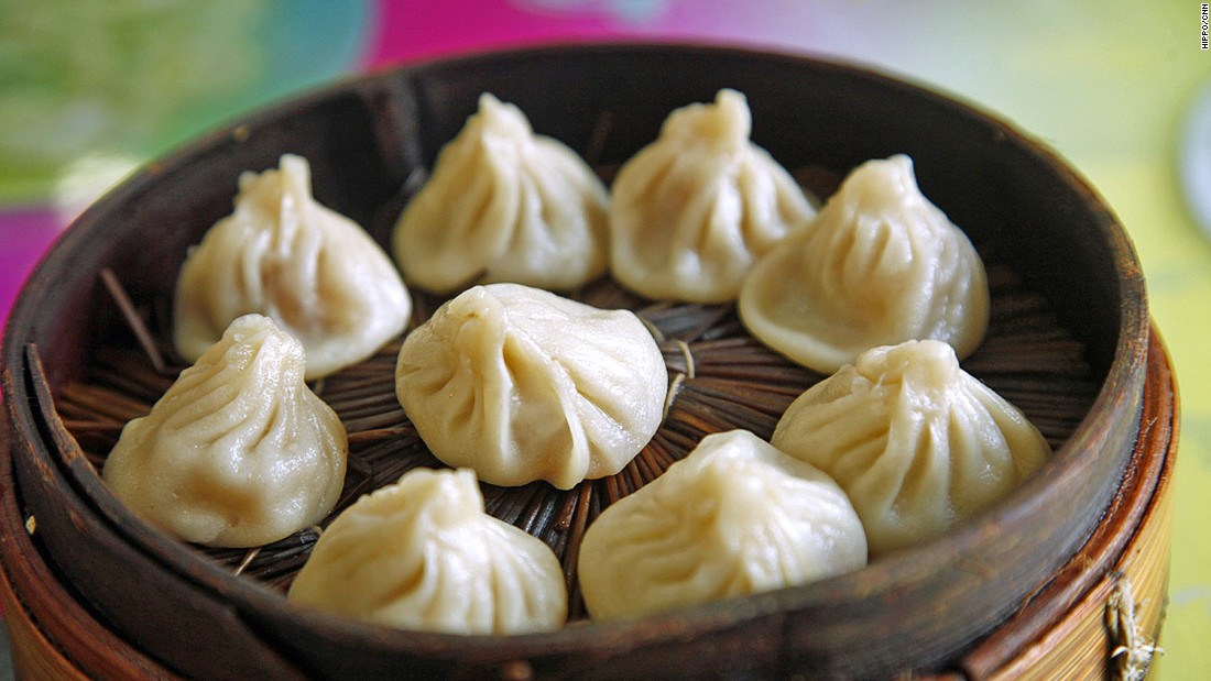 Chefs aim for at least 14 pleats on the dumpling skin. The pork-skin jelly inside melts when steamed, mixing with the meaty filling and creating a delicious broth inside the dumpling.