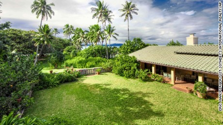 "The home, located in Waimanalo, Hawaii, was once used for the filming of the 1980s television show ""Magnum, P.I."""