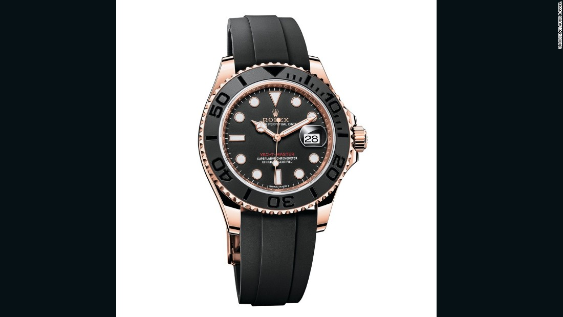 Rolex introduced a new Oysterflex strap, which comprises a flexible metal blade covered with a rubber-like polymer.