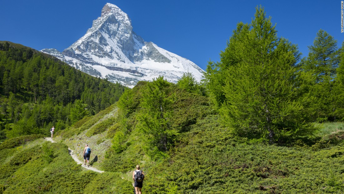 The famous Matterhorn no doubt helped Zermatt, Switzerland break into the top 25 this year.