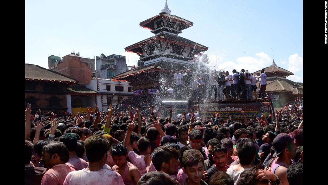 Kathmandu, where revelers recently celebrated the Holi festival of colors, is ranked 19th on the global list.