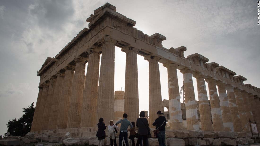The impressive Greek city of Athens is No. 20 in 2015.