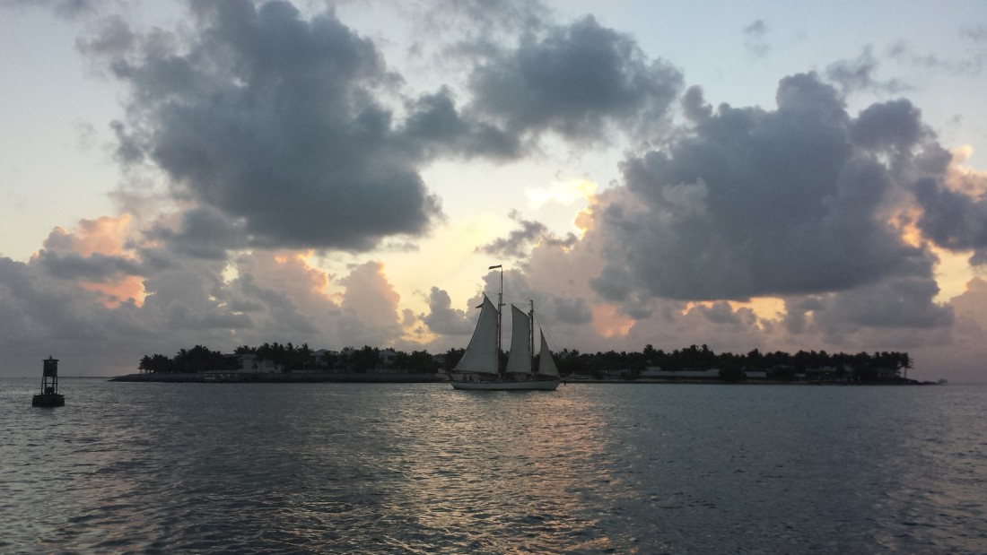 """Living on island time"" is how <a href=""http://ireport.cnn.com/docs/DOC-1222559"">iReporter Tim Jeror</a> captioned this shot taken in Key West, Florida. The little island known for Ernest Hemingway's house, six-toed cats and rum-soaked sunsets is about 160 miles from Miami at the end of U.S. Highway 1."