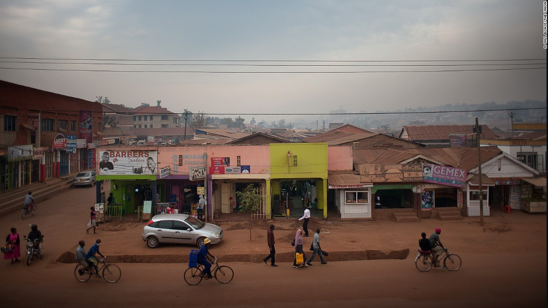 "The Ministry of Education in Uganda has said Bridge International Academies, who has 63 schools across the country, have put the ""life and safety"" of its students on the line. Many of its pupils come from slums like this one in Uganda's capital, Kampala."